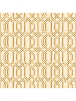 Beaux arts 2 gold geometric