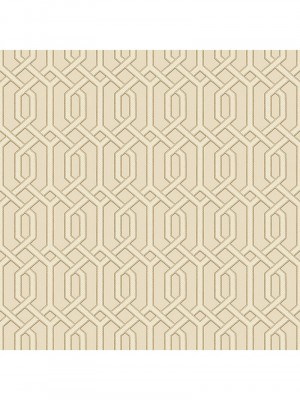 Beaux arts 2  cream geometric