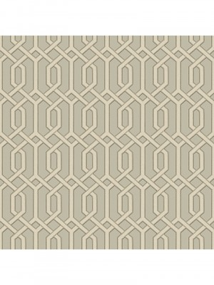 Beaux arts 2 grey geometric