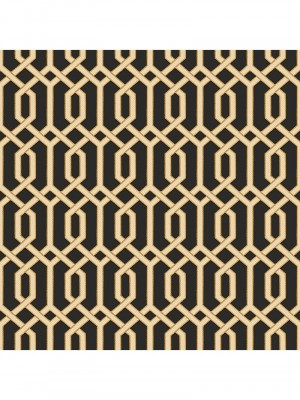 Beaux arts 2 black geometric