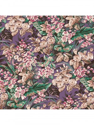 Beaux arts 2 floral purple