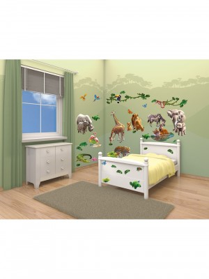 Decor Kit Jungle Adventure kinderkamer