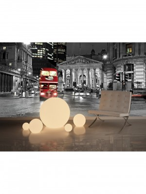 City Love London full color, 9-delig fotobehang (270cm x 418,5cm, multicolor)
