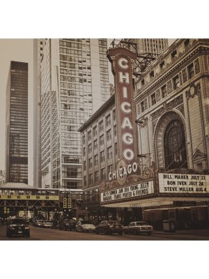 City Love Chicago sepia