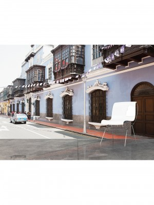 City Love Lima full color, 9-delig fotobehang (270cm x 418,5cm, multicolor)