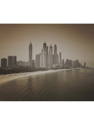 City Love Dubai sepia