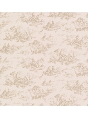 Dollhouse 3 Zaria Toile beige  behang (vlakvinyl