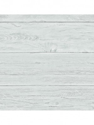 Reclaimed White Washed Boards l.blauw behang (vliesbehang, blauw)