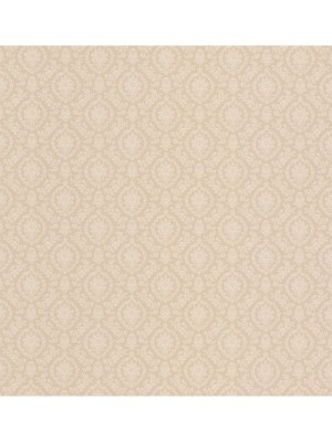 Dollhouse 3 Isabella Damask creme  behang (vlakvinyl