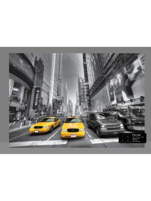 AG Design Yellow Cab 4-delig
