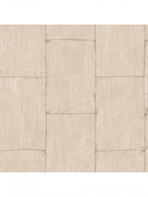 Textured Plains metal beige behang (vliesbehang, beige)