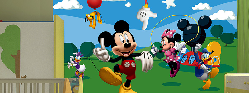Mickey Mouse behang